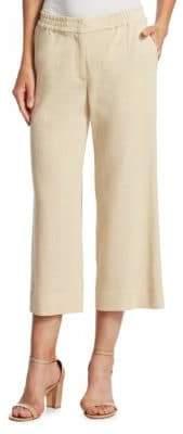 Akris Punto Cropped Silhouette Pants