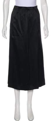 Christian Dior Pleated Midi Skirt