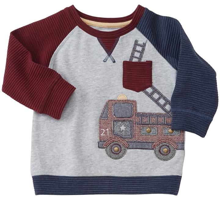 Fire Truck Sweatshirt (Infant/Toddler)