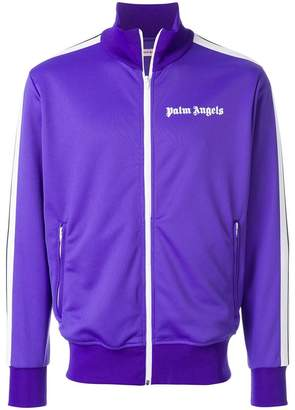 Palm Angels zipped up track jacket
