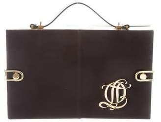 Olympia Le-Tan Leather Compartment Bag
