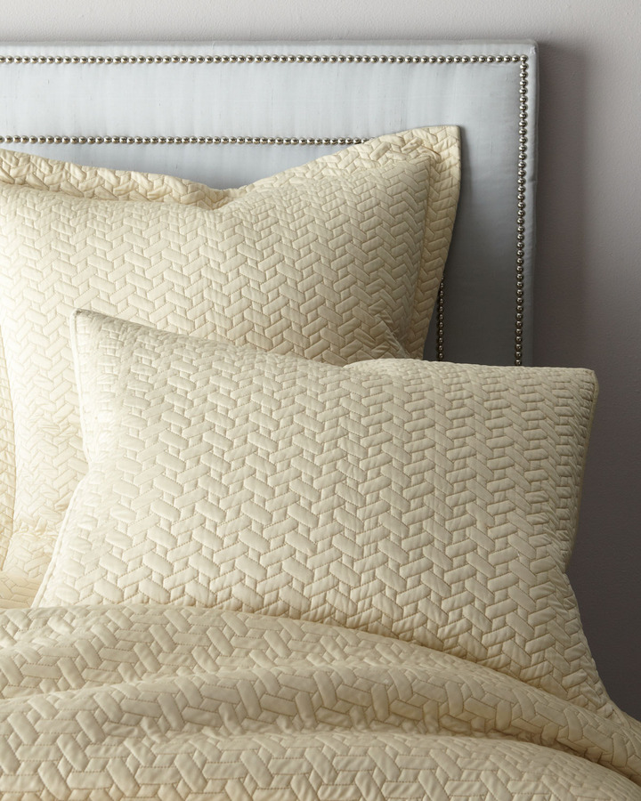 """Dransfield and Ross House """"Vannerie"""" Coverlets & Shams"""