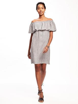 Off-the-Shoulder Shift Dress for Women $34.94 thestylecure.com