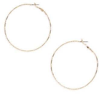Women's Bp. Textured Hoop Earrings $12 thestylecure.com