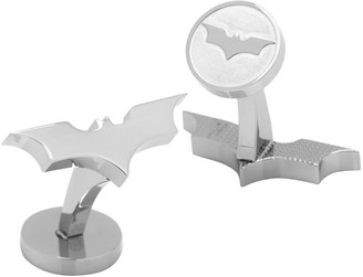 Cufflinks Inc. Cufflinks, Inc. Dark Knight Bat Sterling Silver Cufflinks