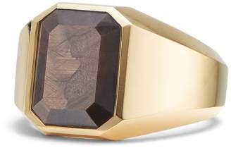 David Yurman Streamline 18k Gold Signet Ring