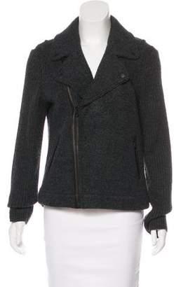 Rag & Bone Wool Woven Biker Jacket
