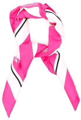 Valentino Bicolor Silk Scarf