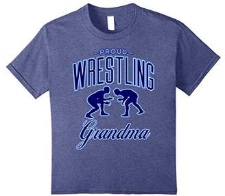 Proud Wrestling Grandma Shirts