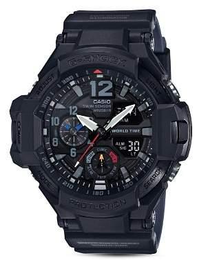 Casio G-Shock Twin Sensor Analog/Digital Watch, 52.1mm