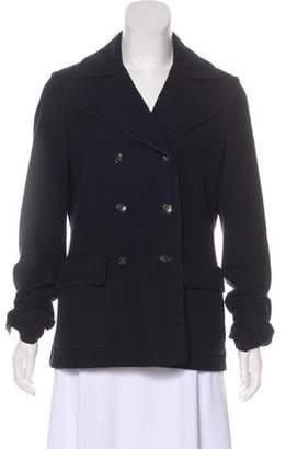 Loro Piana Double-Breasted Knit Jacket