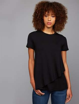 A Pea in the Pod Pull Over Mock Layer Nursing Top