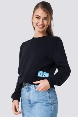 Calvin Klein Monogram Logo Badge Sweatshirt