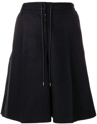 Sacai pleated back skirt