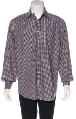 Etro Checkered Dress Shirt