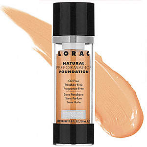 LORAC Cosmetics Natural Performance Foundation
