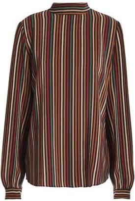 Vanessa Bruno Striped Silk Blouse