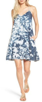 Women's Mimi Chica Acid Wash Slipdress $45 thestylecure.com