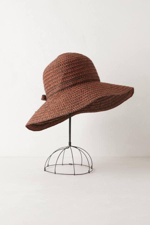 Anthropologie Fairhaven Floppy Hat