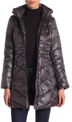 Via Spiga Quilted Down Jacket (Petite)