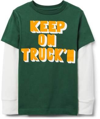Crazy 8 Crazy8 Keep On Truck'n Tee