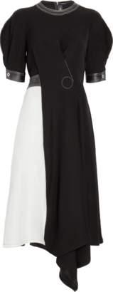 Yigal Azrouel Short Sleeve One-Piece Dress