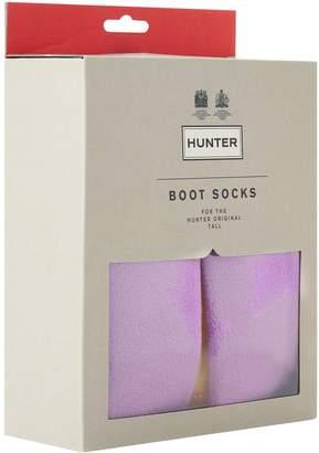 Hunter Patchwork Fleece Boot Socks