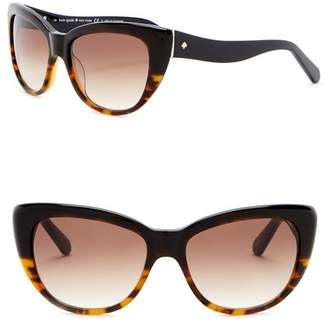 Kate Spade Emales 53mm Cat Eye Sunglasses