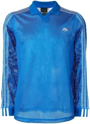 adidas By Alexander Wang mesh polo shirt