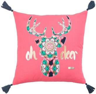 Oh Deer Rizzy Home Simply Southern Throw Pillow