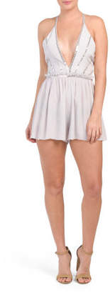 Taylor Sequined Romper