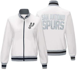 G-iii Sports Women's San Antonio Spurs Field Goal Track Jacket