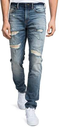 PRPS La Sabre Slim Fit Jeans in Medium Wash