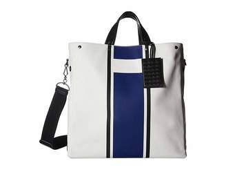 Bottega Veneta Canvas Lines Tote Bag