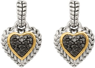 Black Diamond Affinity Diamond Jewelry Earrings, Sterling, 1/4 cttw, byAffinity