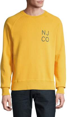 Nudie Jeans Logo Cotton Sweatshirt