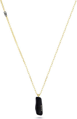 Paige Novick Gem Story Black Tourmaline Pendant Necklace