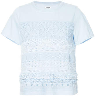 Coohem embroidered T-shirt