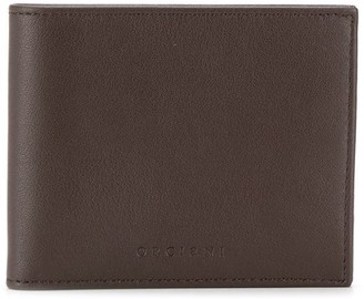 Orciani foldover top wallet