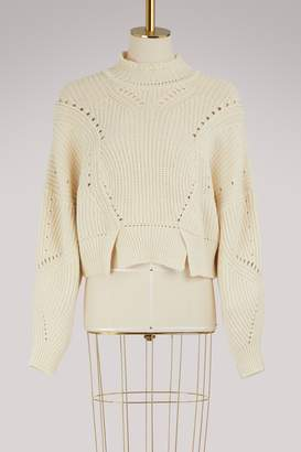 Isabel Marant Lane cotton and wool sweater