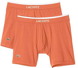 Lacoste Men's 2-Pack Cotton Stretch Boxer Brief