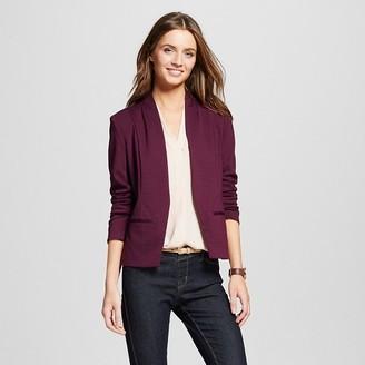 Merona® Women's Ponte Blazer - MeronaTM $29.99 thestylecure.com