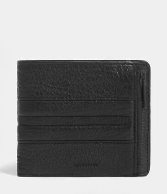 AllSaints Havoc Leather Biker Wallet