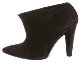Balenciaga Suede Ankle Booties