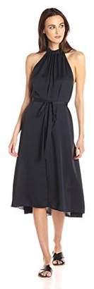 Theory Women's Nayline Washed Poly Dress