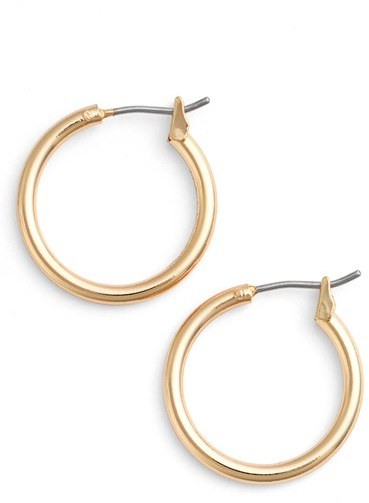 Women's Nordstrom 'Clean' Small Hoop Earrings