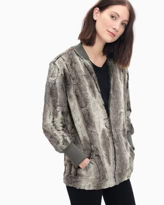 Splendid Grammercy Faux Fur Jacket Brown