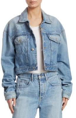 Jonathan Simkhai Cropped Denim Jacket