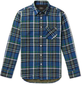 Rag & Bone Fit 3 Checked Cotton Shirt