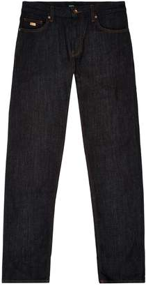 HUGO BOSS Dark Wash Regular Fit Jeans